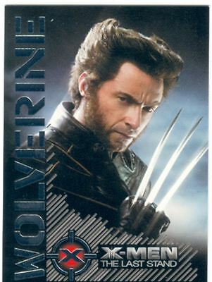X Men 3 The Final Stand Wolverine Portrait Of A Hero Chase Card W4