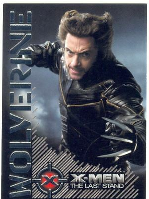 X Men 3 The Final Stand Wolverine Portrait Of A Hero Chase Card W2