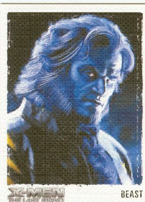 X Men 3 The Final Stand Art & Images Chase Card ART9 Beast