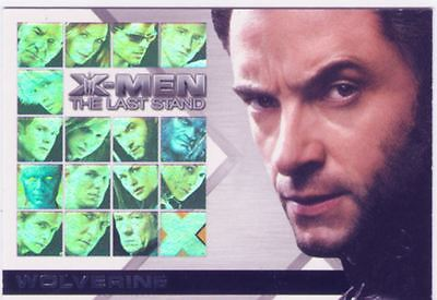 X Men 3 The Final Stand Casting Call Chase Card CC2 Hugh Jackman as Wolverine