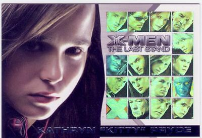 X Men 3 The Final Stand Casting Call Chase Card CC10 Ellen Page as Shadowcat