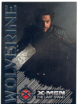 X Men 3 The Final Stand Wolverine Portrait Of A Hero Chase Card W8