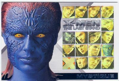 X Men 3 The Final Stand Casting Call Chase Card CC7 Rebecca Romijn as Mystique