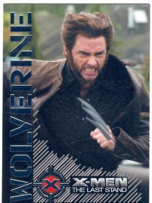 X Men 3 The Final Stand Wolverine Portrait Of A Hero Chase Card W5