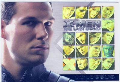 X Men 3 The Final Stand Casting Call Chase Card CC13 Daniel Cudmore as Colossus