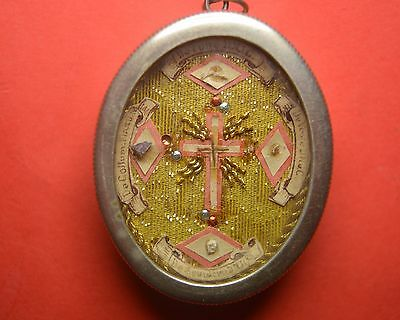 VERY RARE reliquary shrine relic SS TRUE CROSS D.N.J.C+ ROPE DNJC+ OTHER D.N.J.C