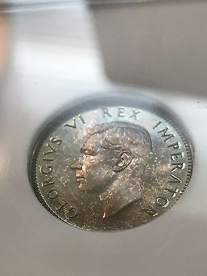 South Africa 1945 Proof 6 Pence NGC PF65