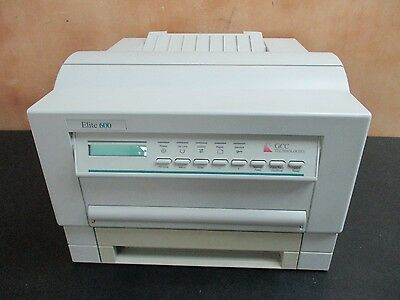 Gcc Elite 600 Printer Gcc Technologies Printer No Power Cord