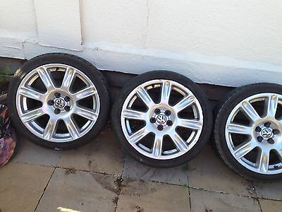 "Polo Dune 17"" Alloy Wheels And Tyres"