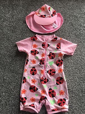 Ladybird Sun safe Costume And Hat Age 18-24 Months
