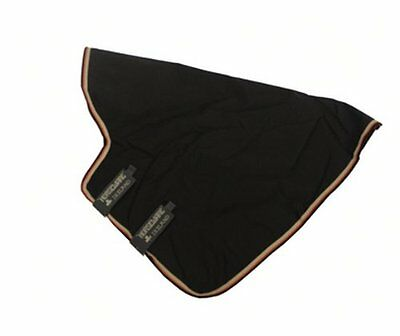 Horseware Rambo Optimo Hood Lite(NoFill) Black/Orange/Black X Large