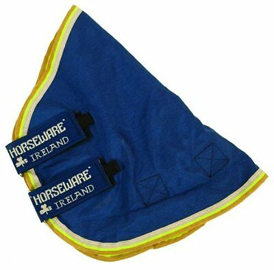 Horseware Rambo Original Hood 150g Denim Blue/Lime/Mustard Medium