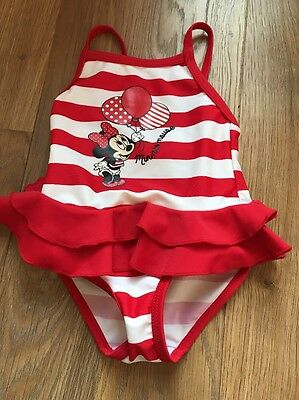 Minnie Mouse swimsuit 6-9 Months