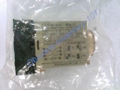 Fuji Electric Time Delay Relay 0-6Minute 100/110V 50/60Hz  St3P-A-B-0-6M