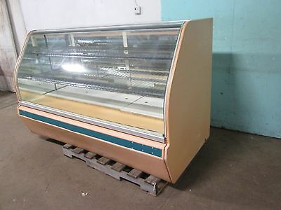 """structural Concepts"" H.d. Commercial Lighted Curved Glass Bakery Display Case"