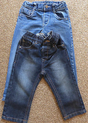 2 pairs jeans fit 18 – 24 months