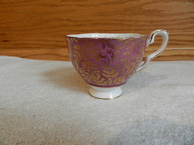Royal Stafford 1842/10 Cup Only Pink With Gold Design & Trim Fine Bone China