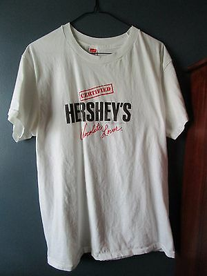 Vintage 1980's Unisex Hershey Chocolate Lover T-Shirt Size XL