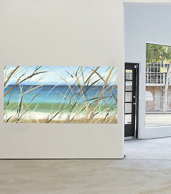 "47"" Byron Bay Beach Art Painting Print Canvas Large Australian  By Andy Baker"