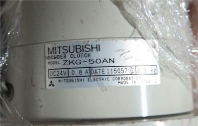 1 Pcs Used Good Condition Mitsubishi Tension Magnetic Powder Clutch ZKG-50AN ln