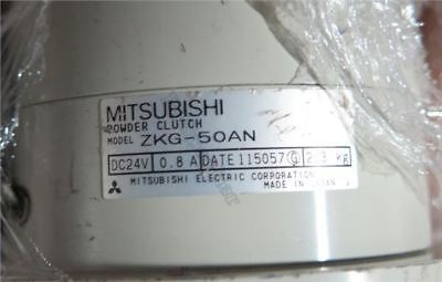 1 Pcs Used Good Condition Mitsubishi ZKG-50AN Tension Magnetic Powder Clutch pr
