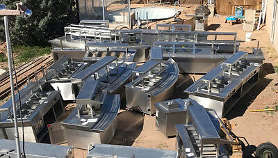 150 ft of stainless steel buffet tables, handwashing, cold and hot