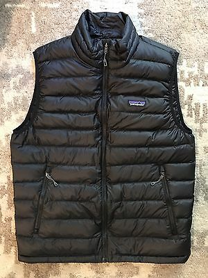 Patagonia Down Sweater Vest Brand New With Tags Size Medium M Black