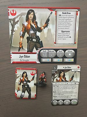 Star Wars Imperial Assault - Jyn Odan Painted Figure and Cards