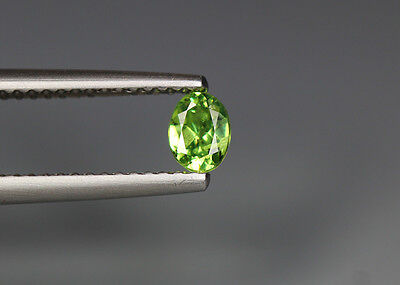 0.35 Cts_Stunning Very Rare Collection_100 % Natural Demantoid Garnet - Russia
