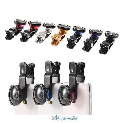 Universal Clip HD 0.4x Super Wide Angle Selfie Cam Lens for Mobile Cell Phone