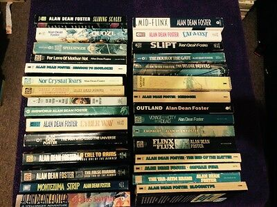 Alan Dean Foster x 30 Titles Within Listing