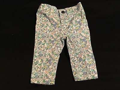 Carter's 6 Month Baby Girl Floral Pants Jeans Bottoms