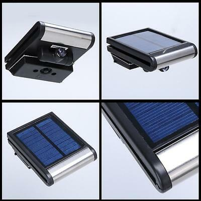 Solar Powered Fence Lights Wall Door Step Led Light Outdoor Garden Lighting