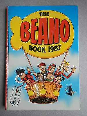 BEANO 1987 UK ANNUAL unclipped Great Condition: No missing pages! No pen marks