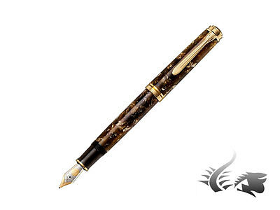 Pelikan Souverän 800 Renaissance Brown Fountain Pen, 805445 , F