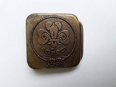 Italy Boy Scouts Agesci Buckle