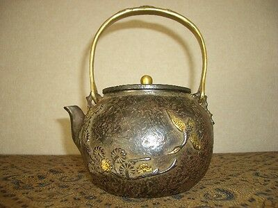 Tetsubin Iron Tea kettle (84)