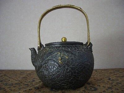 Tetsubin Iron Tea kettle (78)