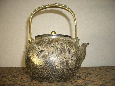 Tetsubin Iron Tea kettle (73)