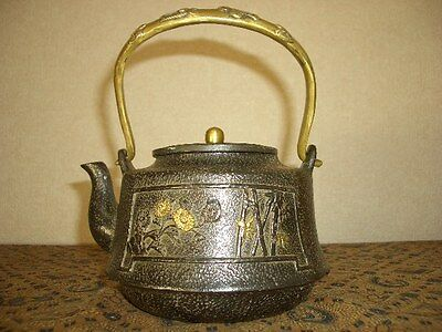 Tetsubin Iron Tea kettle (104)