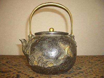 Tetsubin Iron Tea kettle (106)