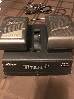 Anton Bauer Titan 2 Gold Mount Charger W/ 2 Battery' Inter Active 2000 .