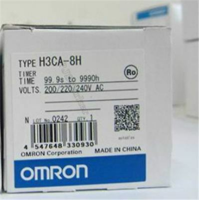 Omron Timer 100/110/120VAC Brand New H3CA-8H ct