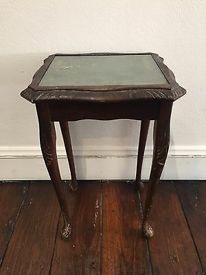 Small Antique Phone Table