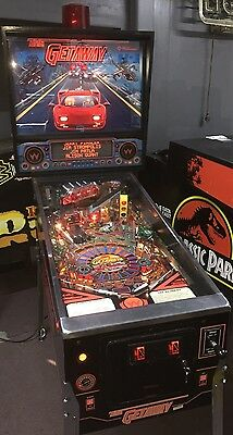 The Getaway High Speed II Pinball Machine by Williams coin Op Arcade