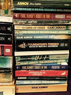 Isaac Asimov x 40 Books. Titles In Listing