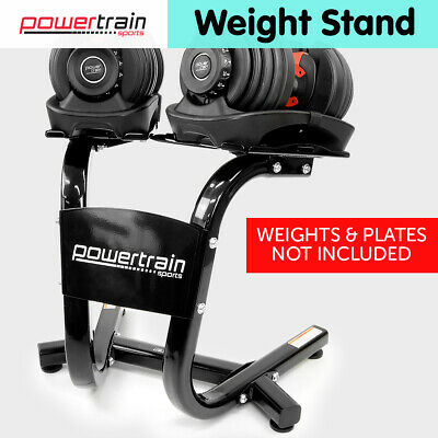 Powertrain Adjustable Dumbbells Stand for 24kg 40kg Home Gym Exercise Equipment