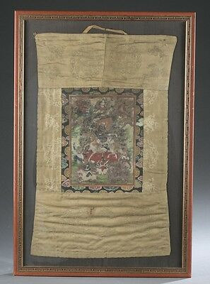 Thangka of Palden Lhamo. Lot 378