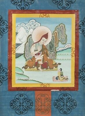 2 20th century Thangka painting. Lot 381