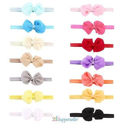 NEW! 14 PCS Headband Kids Girl Baby Toddler Bow Flower Hair Band Accessoires Hea
